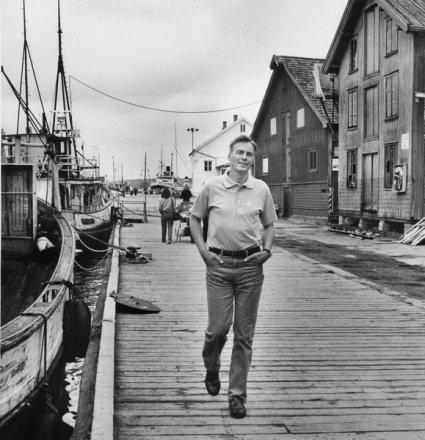 Pål Kraby adm. dir i NAF (dagens NHO) fra 1977 til 1986 bryggelangs i Tønsberg tidlig på 80-tallet før restaurantene gjorde sitt inntog.