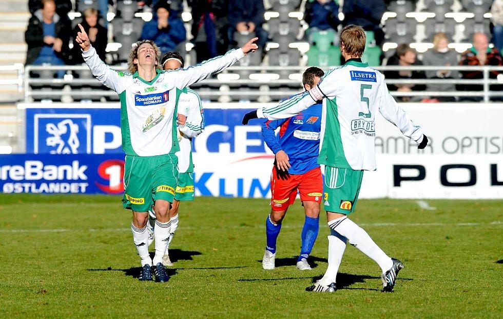 Thomas Lehne Olsen scoret tre for HamKam.