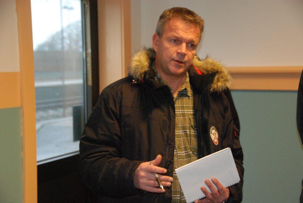 Eiendomssjef Alf Gunnar Lunde i Rom eiendom ønsker flere virksomheter inn i stasjonsbygget.
