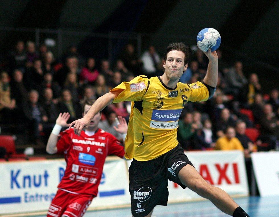 Fredrik Josefsson og HK Herulf Moss var gode mot Nøtterøy.