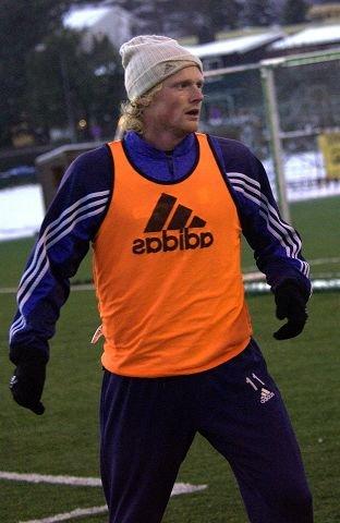 Jon Midttun Lie røk korsbåndet i treningskamp og mister hele fotballsesongen. Foto: Atle Møller