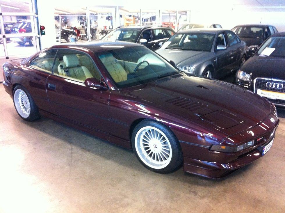 BMW Alpina B12 5.7 Coupe.      Nr 22 av 57 produsert. Kun 1 i Norge. 1993 modell, 47000 km.          Innsendt av Erik Johannessen