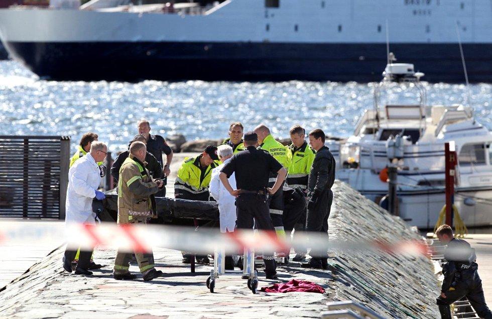Mannen som ble funnet død i Fiske båthavn druknet, opplyser politiet.