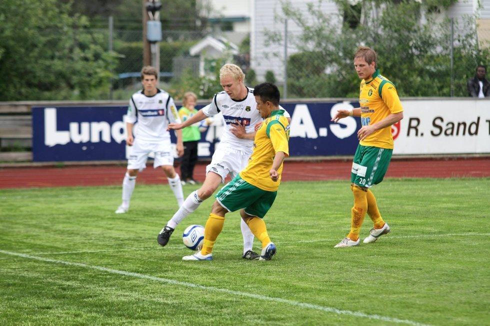 Ullensaker/Kisa mot Moss FK.