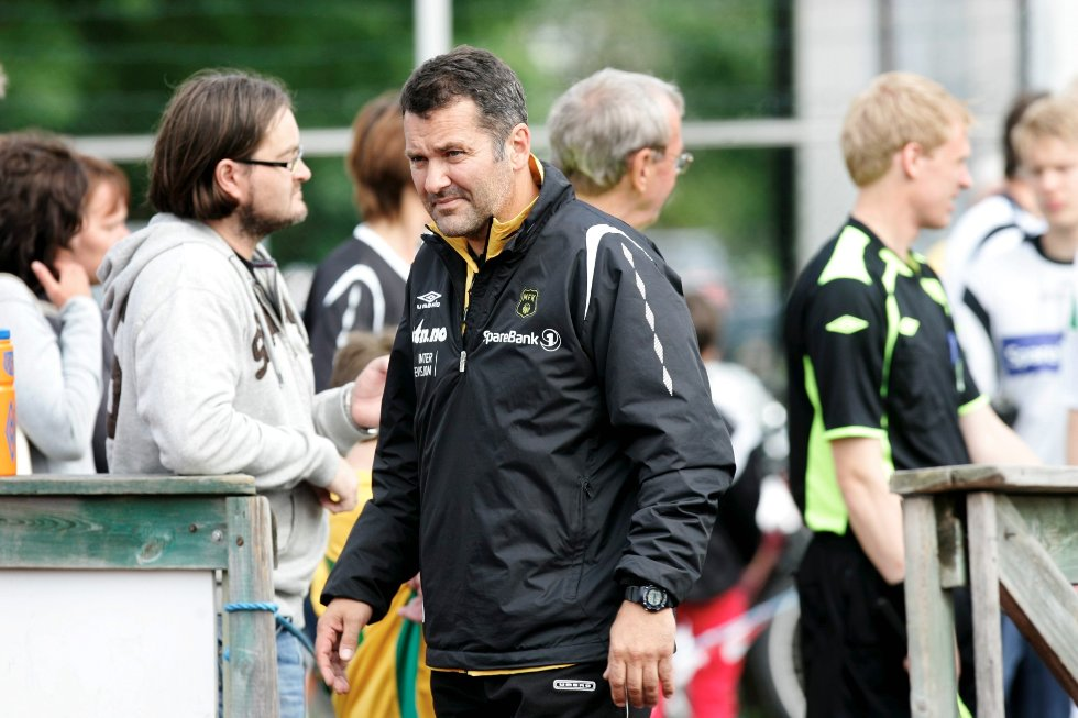 Moss FK ligger under mot RBK2.