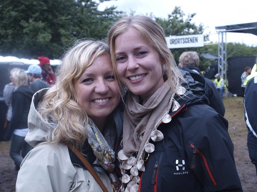Lene Gundersen (28) fra Fredrikstad og Lena Hesstvedt (27) fra Tønsberg. (Foto: )