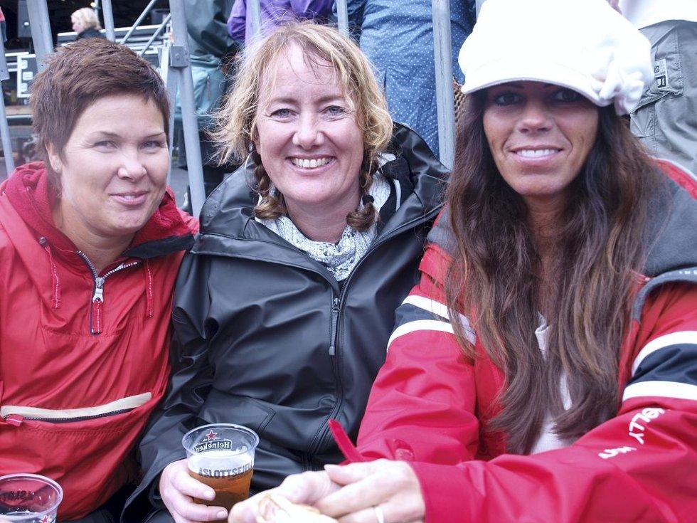Nina Bekke (38) fra Skien, Anne Hermansen (43) fra Porsgrunn og Claudia Karlsen (43) fra Horten. (Foto: )