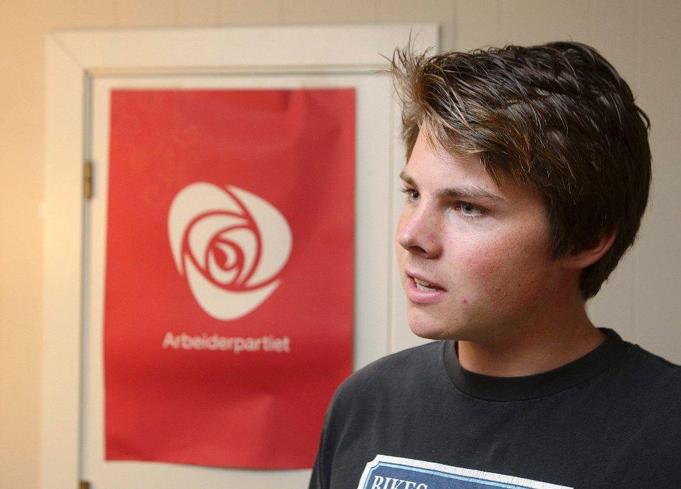 Håkon Sandbakken (22) fra Høvik i Bærum.