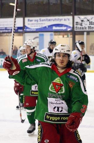 HOCKEYHELT: Mats Zuccarello Aasen, eks-Frisk, nå proff i NHL og landslaget. Foto: Ulf hansen