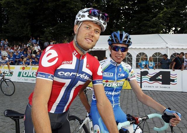 SUPERSYKLIST: Thor Hushovd, verdensmester landeveisritt 2010, vinner av grønn trøye i Tour de France. Foto: Eva Groven
