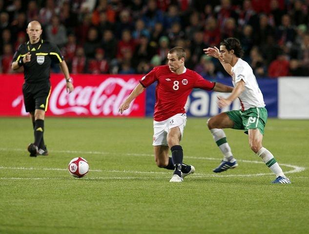 DRILLOS MANN: Henning Hauger, eks-Stabæk, nå Hannover og landslaget. Foto: Tore Guriby