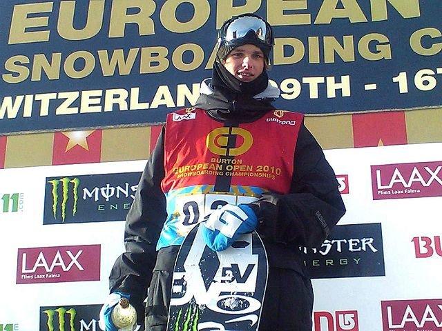 BEST PÅ BRETT: Mikkel Bang, Bærums Skiklub. Foto: Roger Hjelmstadstuen