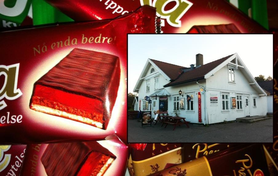 Tyven var på jakt etter sjokolade da han brøt seg inn hos Sentrum kiosk på Tjøme.