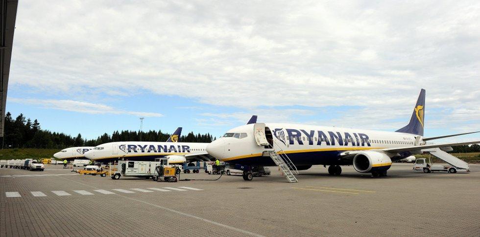 Ryanair flyr til flere spanske destinasjoner fra Sandefjord lufthavn Torp - skal du til Madrid må du imidlertid fly fra Rygge.