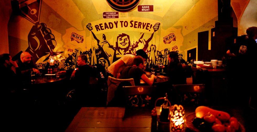 Rio Club er et av de mest populære utestedene i Bratislava. Her siver rocken ut av høyttalerne.