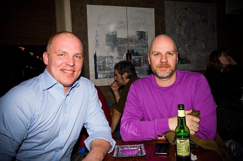 Espen og Torgeir (Foto: Hans Petter Vassgård)