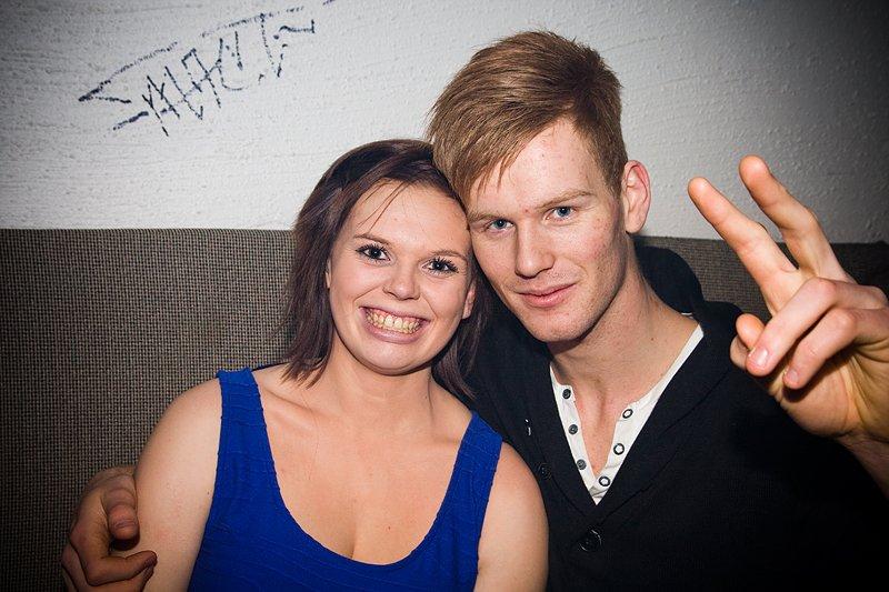 Erika og Joakim (Foto: Hans Petter Vassgård)