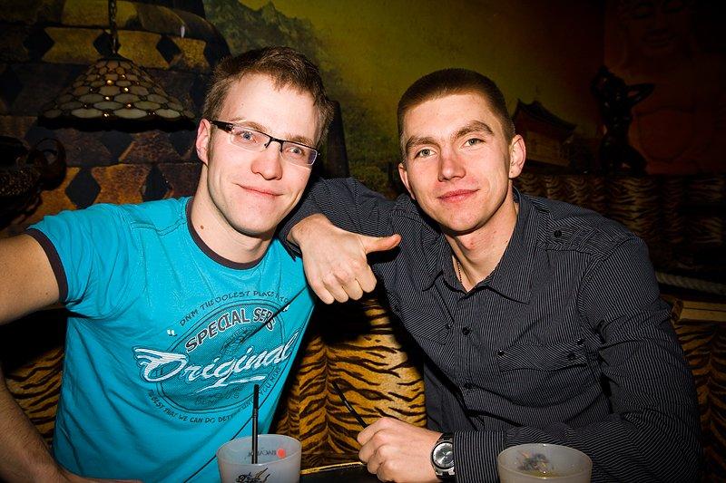 Kamil og Artur (Foto: Hans Petter Vassgård)