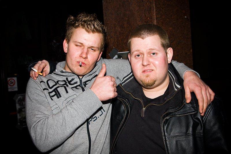 Magnus og Larsi (Foto: Hans Petter Vassgård)