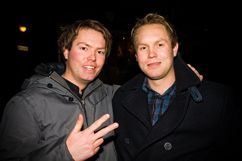 Mats (Robban) og Thomas (Foto: Hans Petter Vassgård)