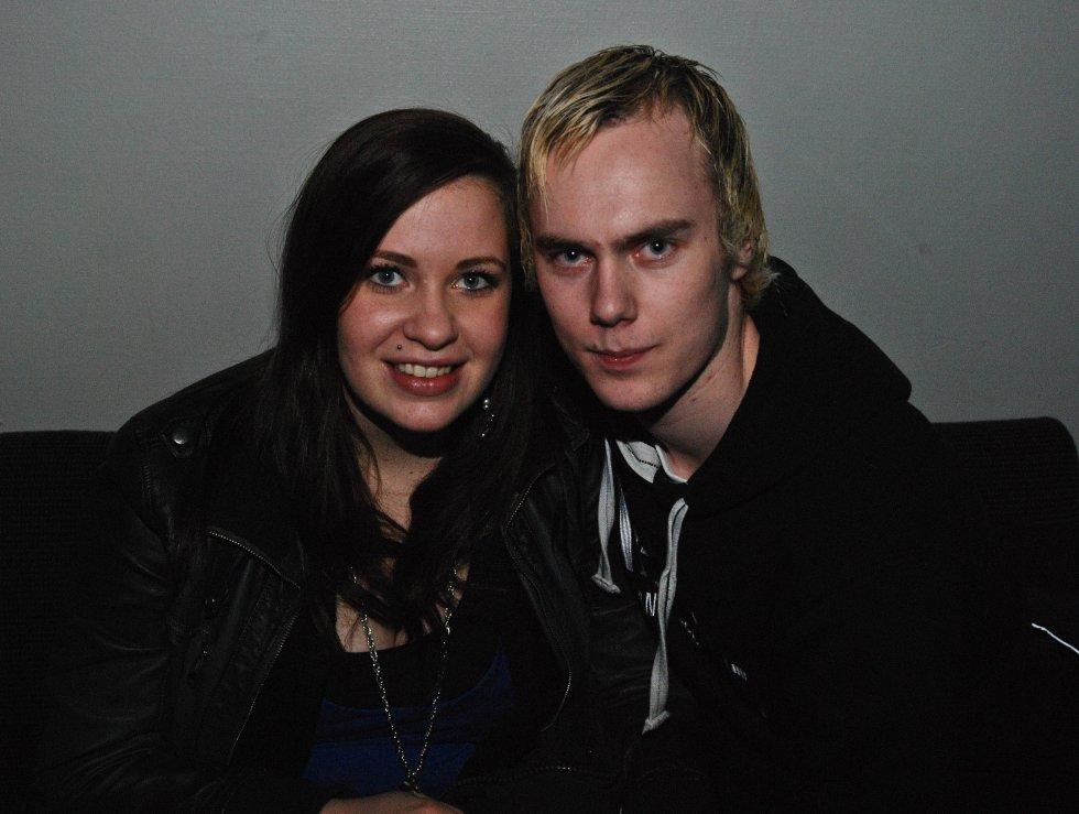 Kristina Hansen og Stian Geitle på Argus.