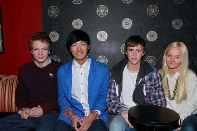 Njord, Jon, Jacob og Emilie