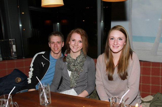 Matias, Sandra og Lone
