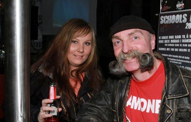 Veronica og pappa Ronny