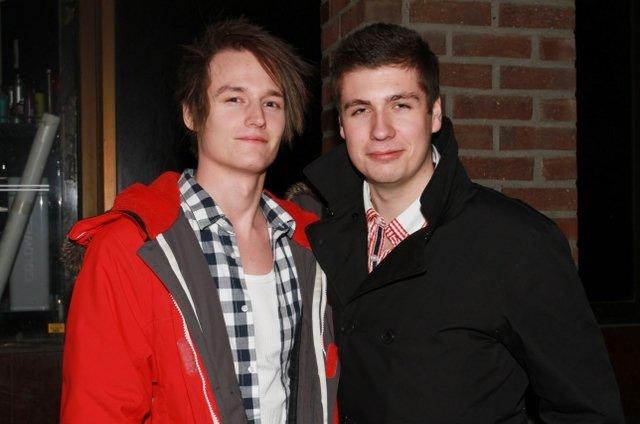 Henrik og Marius