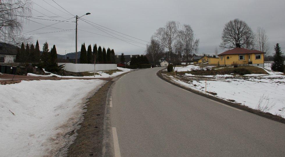 Gang- og sykkelveien skal gi elevene på Galleberg skole en tryggere skolevei.