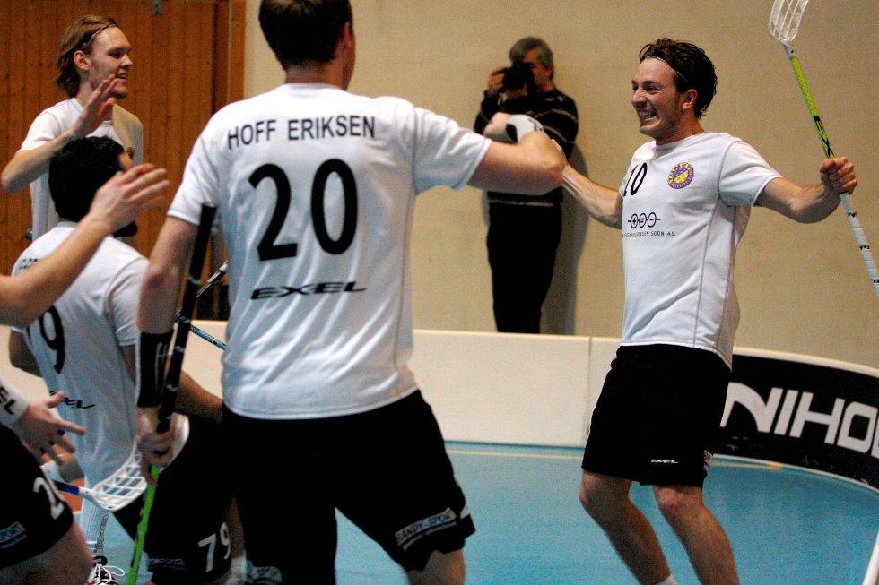 SCORET ETT: Ole Mossin Olesen som avgjorde i førstebortekampen mot Gjelleråsen, scoret også i onsdagens kamp.