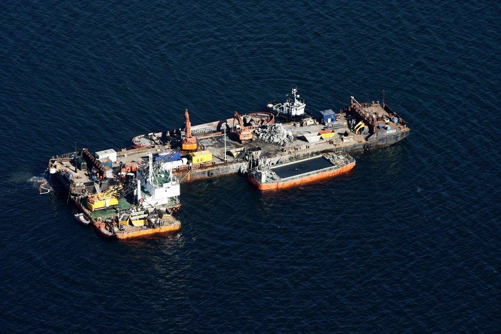 OMSTRIDT: Entreprenøren Secora ble dømt for brudd på forurensningsloven etter dypvannsdeponeringen ved Malmøykalven, overvåker NGI ble også dømt, men anket saken til Borgarting lagmannsrett.