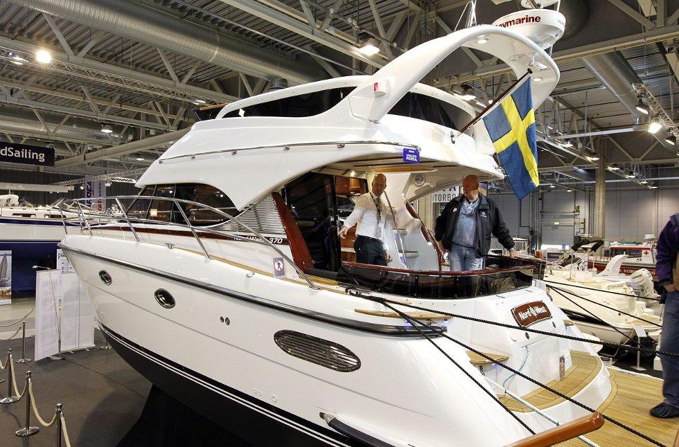 Vi nærmer oss raskt påske, og tradisjonen tro, holdes det båtmesse i Lillestrøm. Her er kan du klikke deg igjennom et utvalg av hva du kan se på messa i år.     Foto: Bjørn V. Sandness