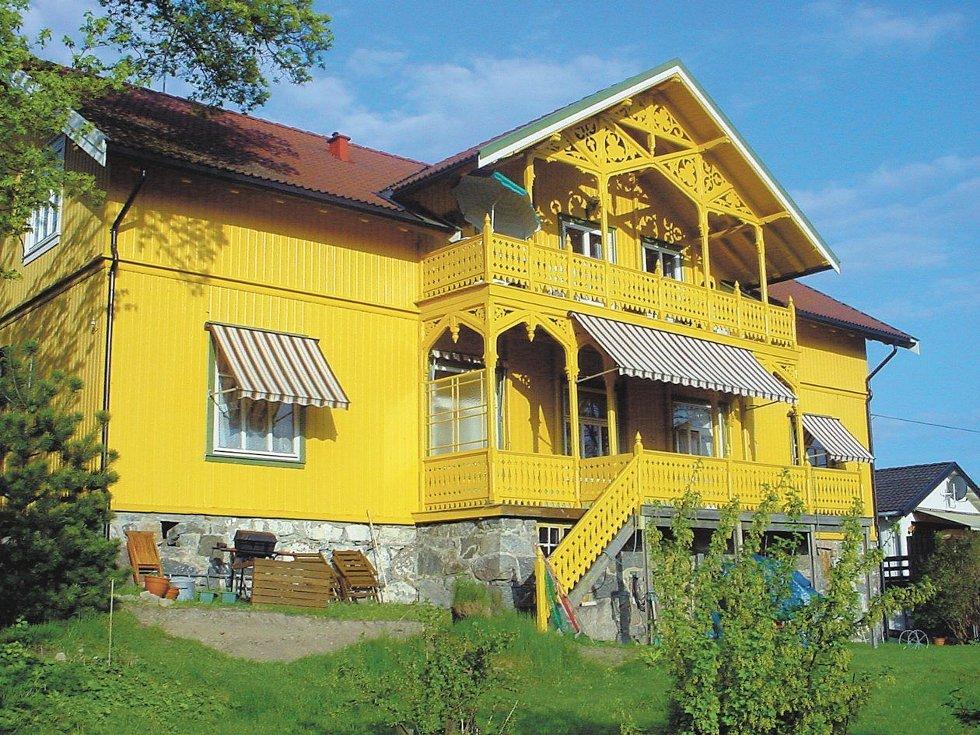 Seterveien 2B på Nordstrand, huset som Jomfru Andersson fikk bygget i 1876-77 og hvor også Asbjørnsen bodde hos Jomfruen.Foto: Gunnar Pedersen