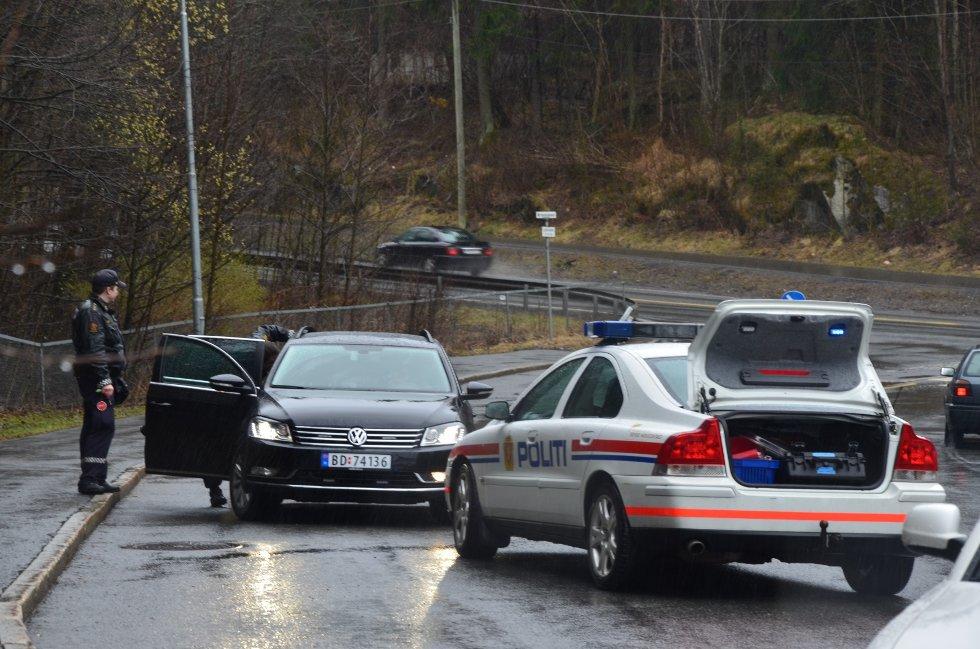 Det er ikke kjent hva som skjedde i Ljabruveien/Mortensrudveien, men en person er innbragt for ordensforstyrrelser.
