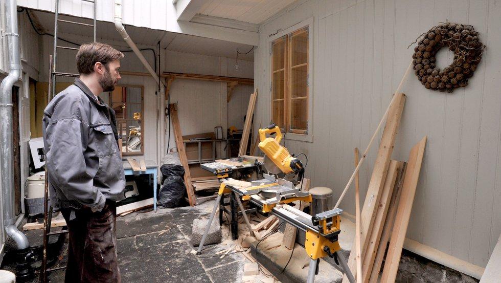 Da Jon-Arild Johansen kjøpte huset, fikk han høre at de ti første årene med oppussing er verst.