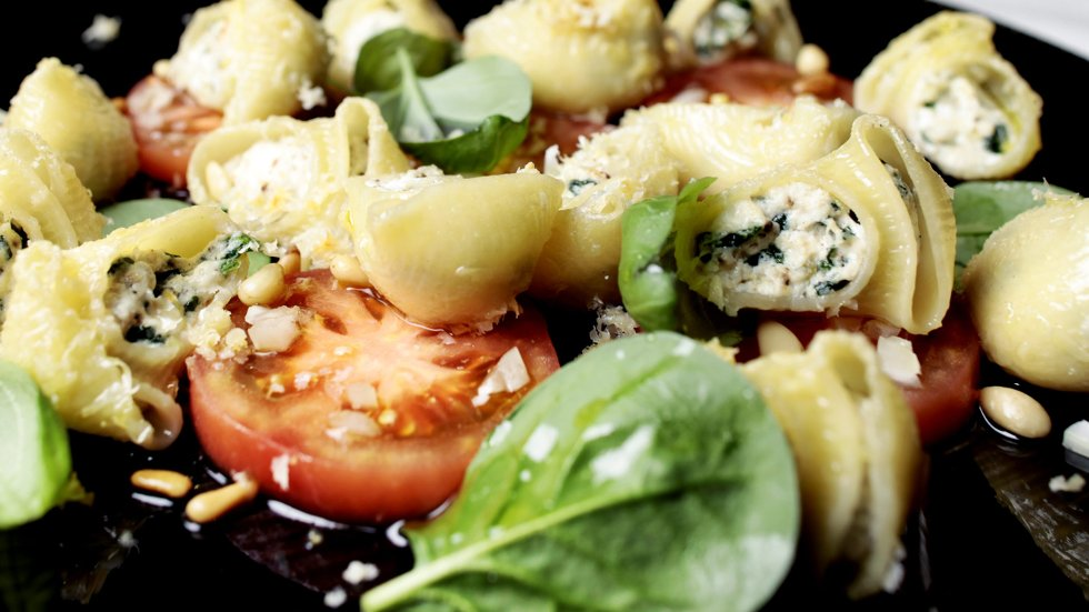 Server pastasalat på en helt ny måte.