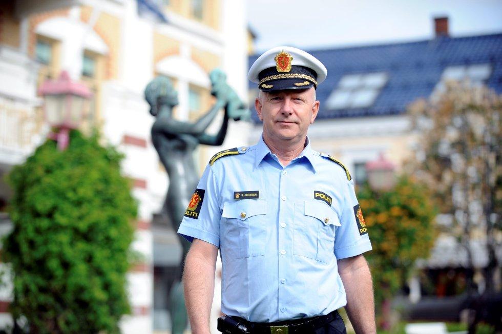 Politistasjonssjef Brian Jacobsen.