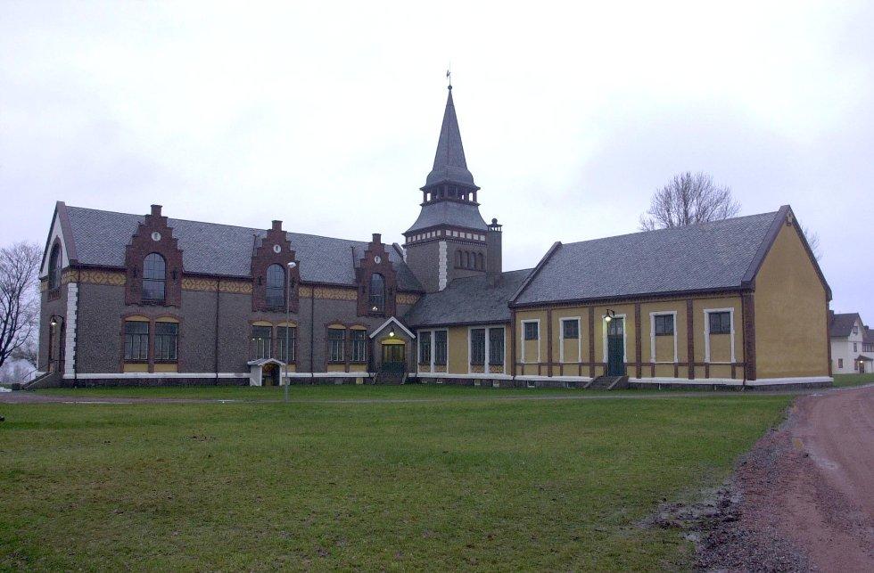 Det oppsto røyutvikling i Bastøy fengsel sent fredag kveld.