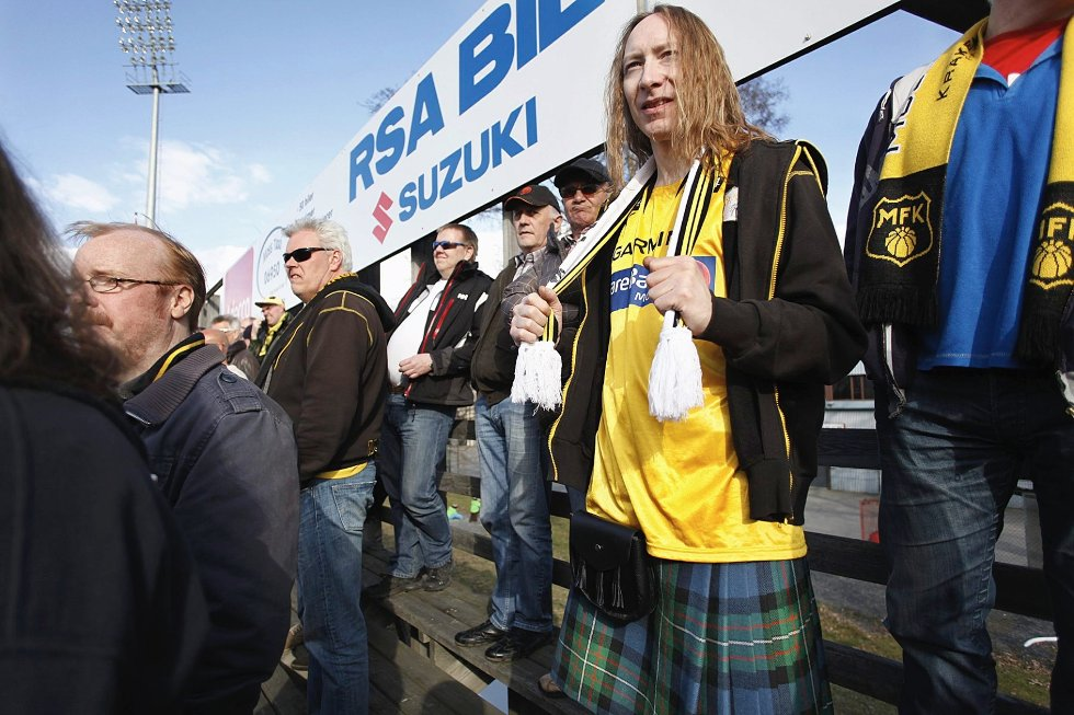 David, skottland, MFK - Kvik Halden
