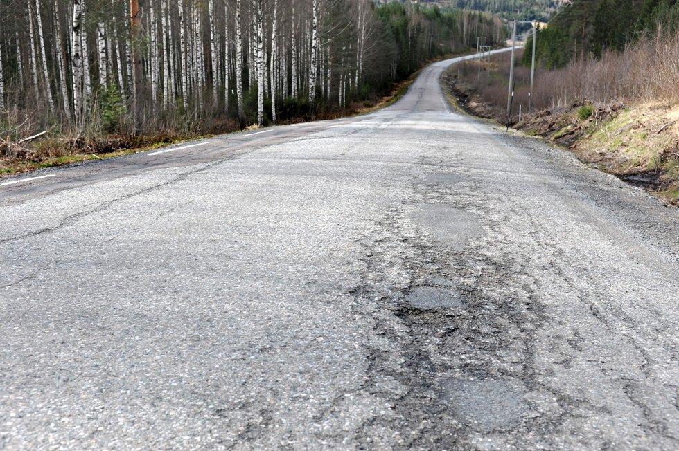 Fylkesvei 81 Passebekkveien  (Foto: Ståle Weseth)