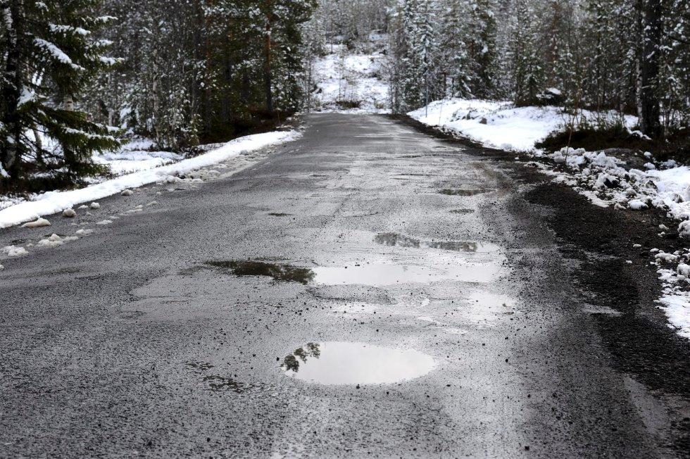 Fylkesvei 96 Lurdalsveien (Foto: Ståle Weseth)