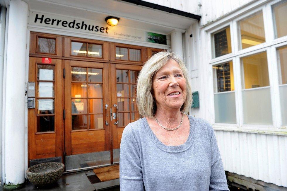 Vigdis Myrvang og de frivillige ved Sosialmedisinsk senter får løfter om at driften skal bestå. Arkivfoto: Kurt andré Høyessen