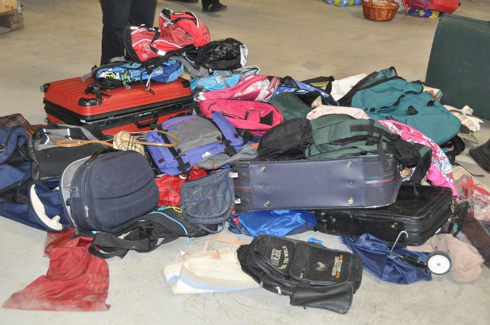 Bager og kofferter i alle fasonger og farger. (Foto: Foto: Haukur Jansson)
