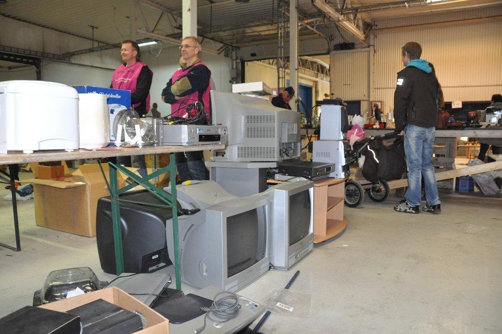 Store tv-er kan du få kjøpt billig. (Foto: Foto: Haukur Jansson)