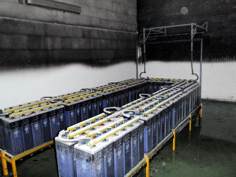 Intakte batterier