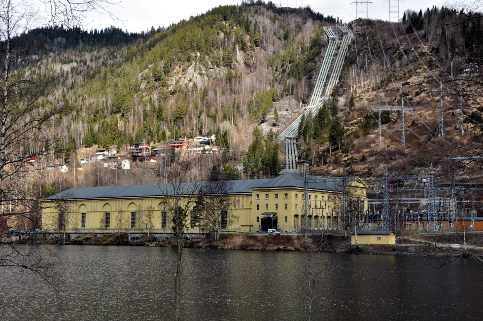 Rødberg Kraftstasjon