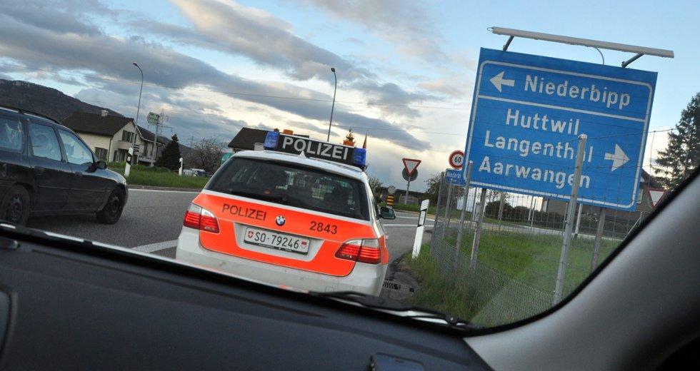I Sveits vanket anmeldelse for å ha kjørt for sakte på motorveien.