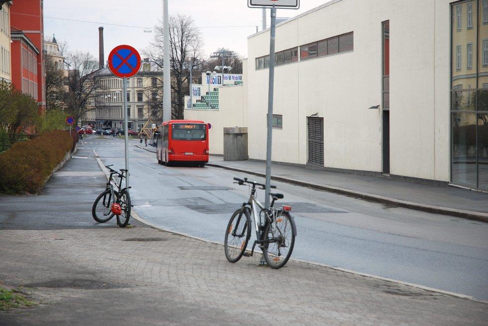 REDUSERER: 21-bussen får færre avganger i rushtiden.
