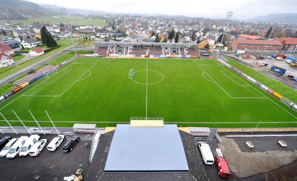 Nye Mjøndalen stadion.